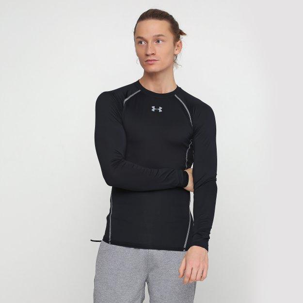 Компрессионные футболки Under Armour Hg Armour Ls - MEGASPORT