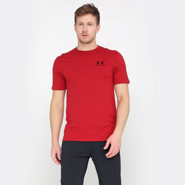 Футболка Under Armour Sportstyle Left Chest Ss - MEGASPORT