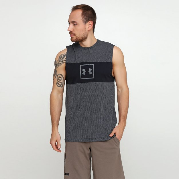 Майка Under Armour Sportstyle Cotton Mesh Tank - MEGASPORT