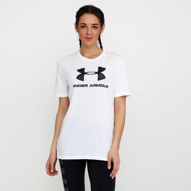 Футболки under-armour Sportstyle Logo Ss - 116934, фото 1 - интернет-магазин MEGASPORT